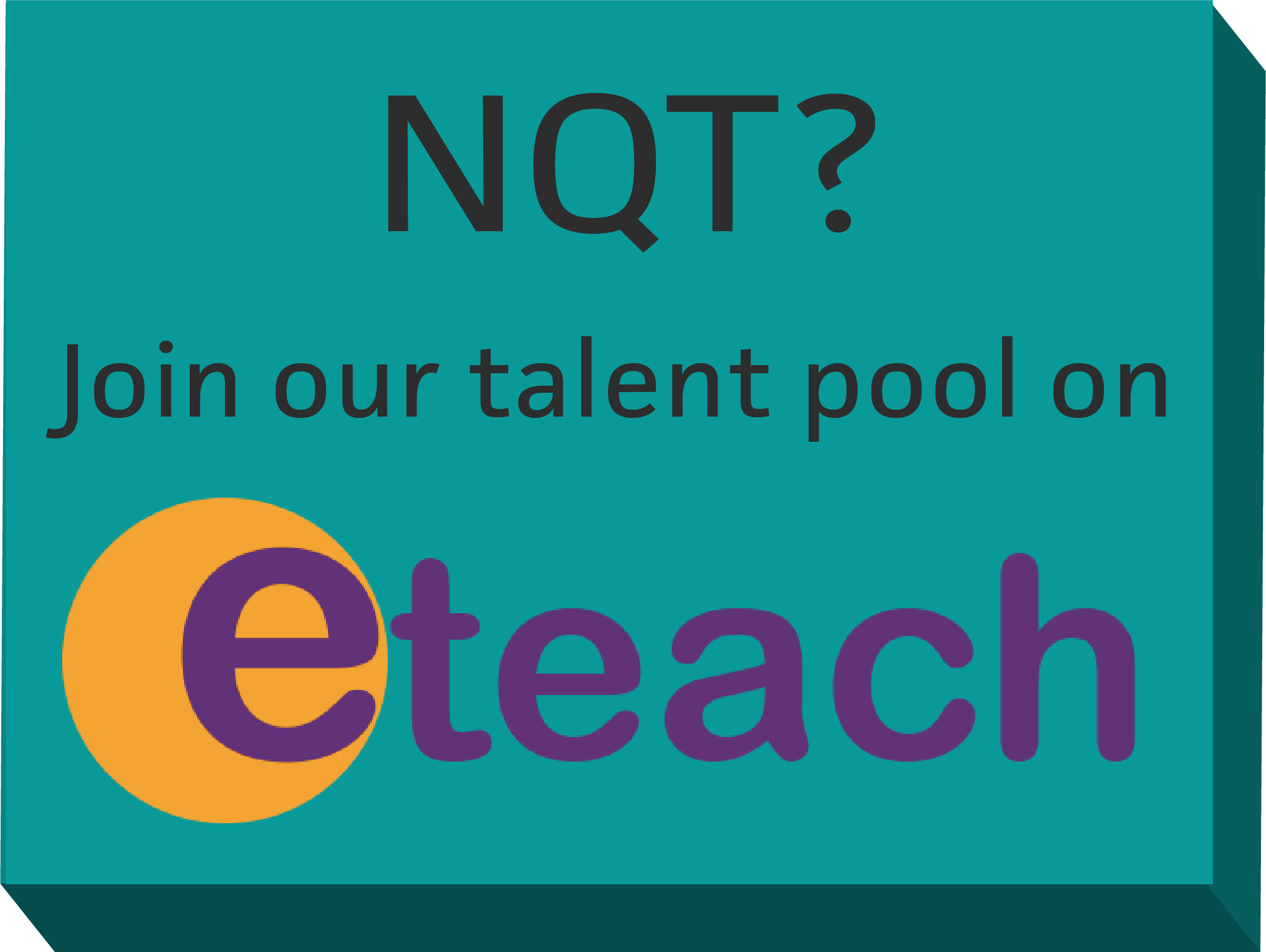 NQT? Join our talent pool on Eteach