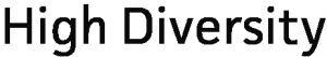 High diversity